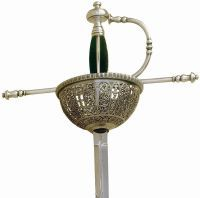 Spanish Tizona Cup Hilt Rapier Sword